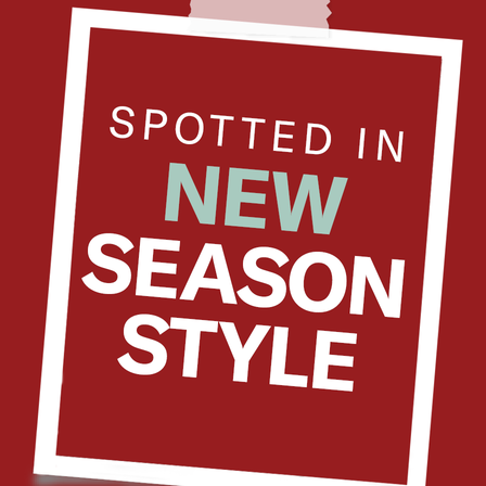 Spotted: New Season
