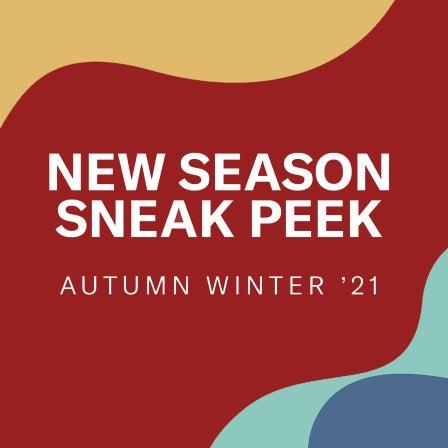 Autumn Winter Sneak Peek