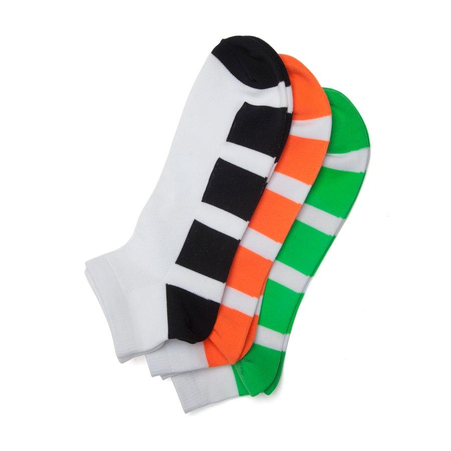 3 pack Sox Microfibre Men's Trainer Socks