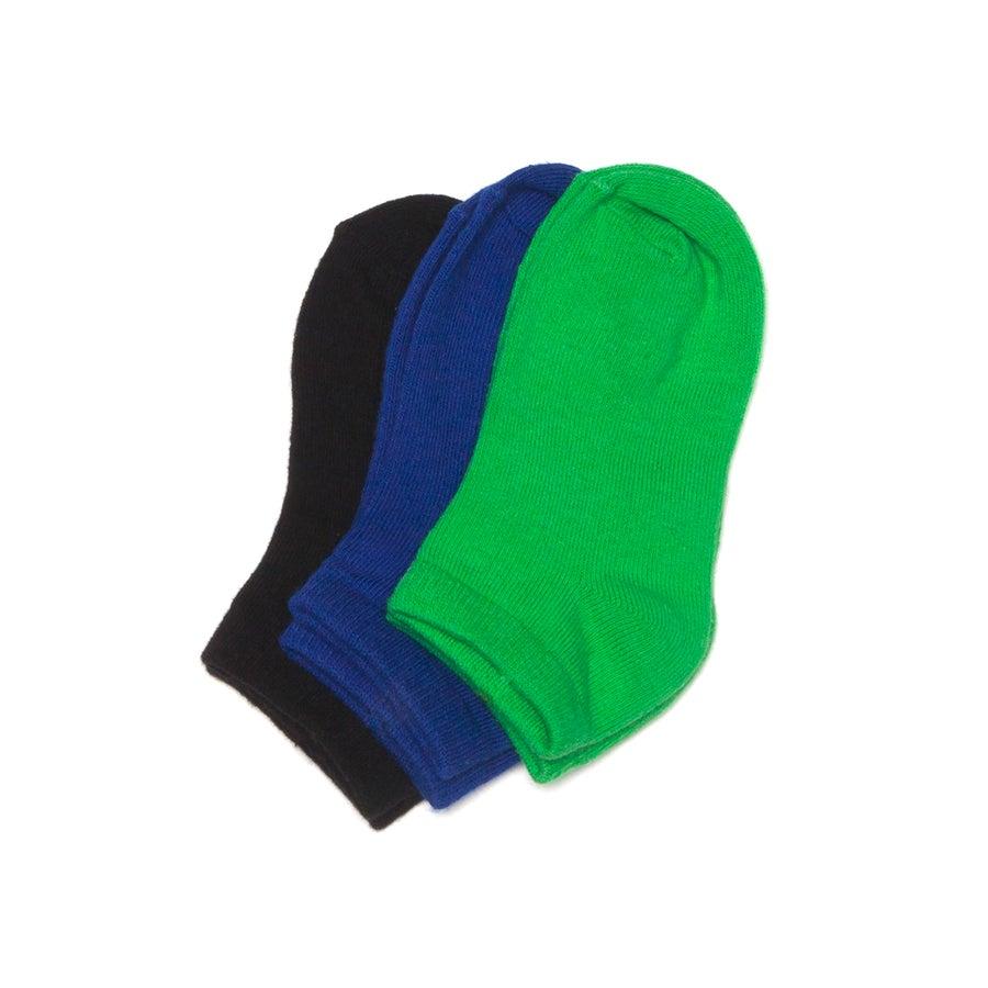 3 Pack Trainer Liner Socks - Boys'