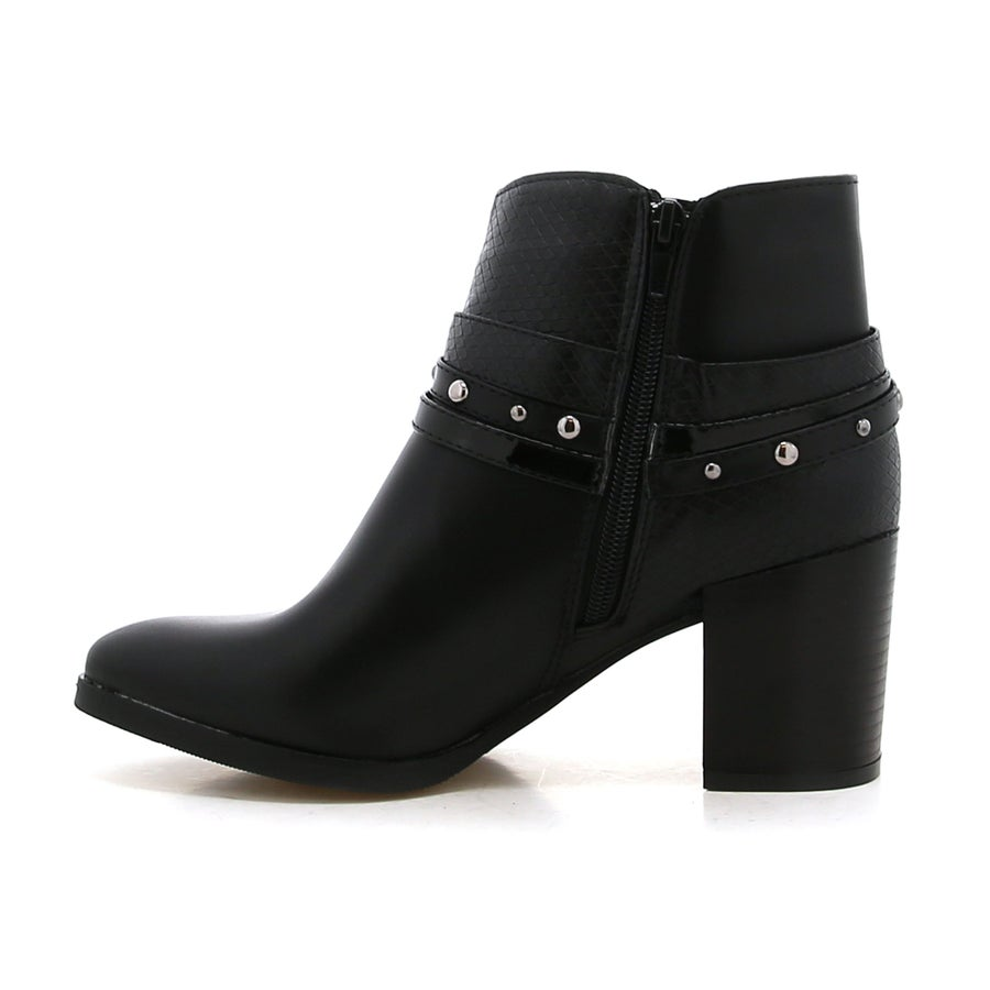 Adele Heeled Ankle Boots