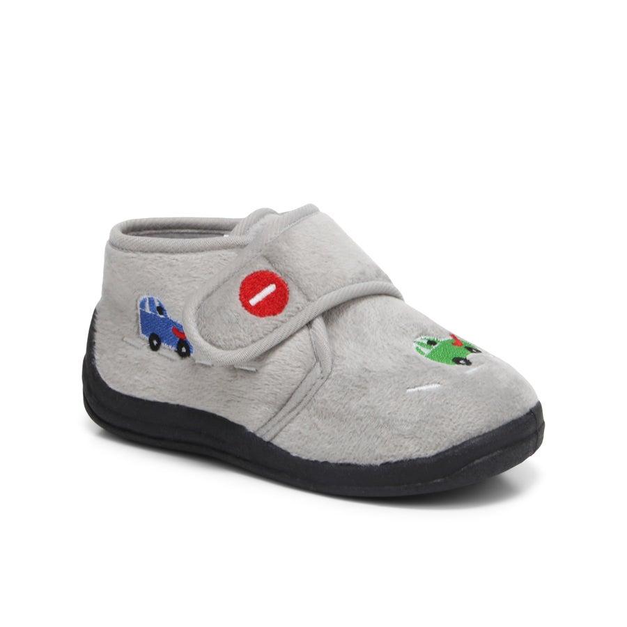 Brum Brum Toddler Slippers