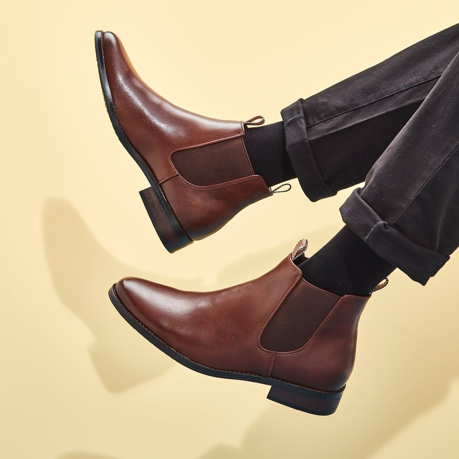Carson Chelsea Boots - Wide Fit