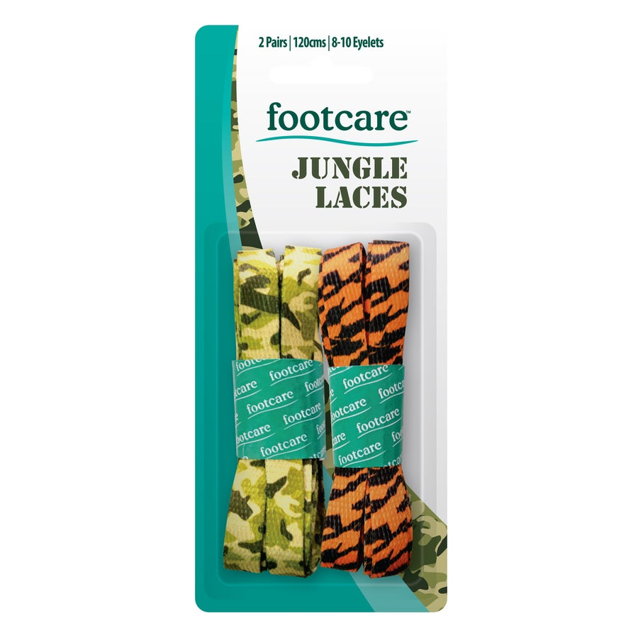 Footcare Jungle Laces