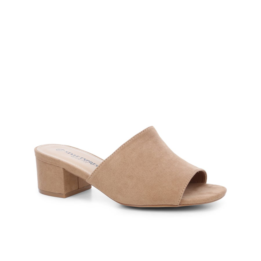 Georgia Block Heels - Wide Fit