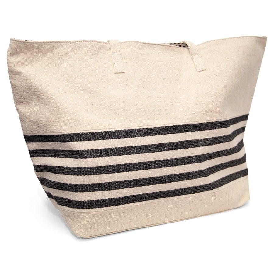 Iris Canvas Shopper Bag