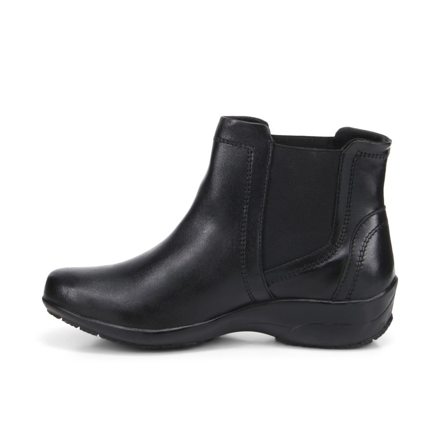 Janelle Leather Ankle Boots