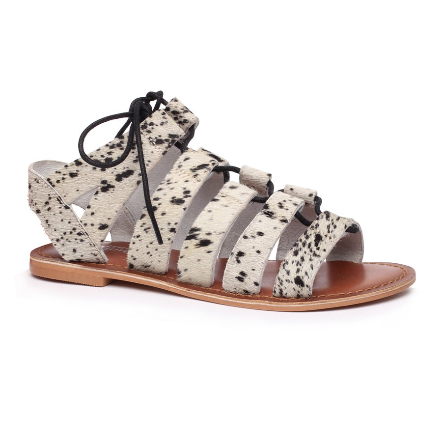 Limited Edition Clover Leather Sandals