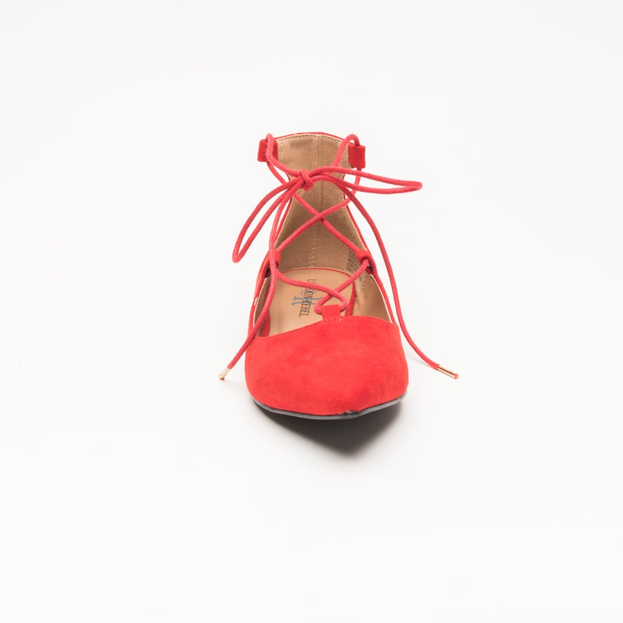 London Rebel Atari Ballet Flats