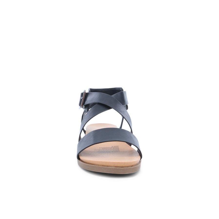 London Rebel Tamsin Crossover Sandals