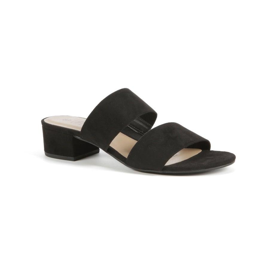 Pansy Block Heel Mules