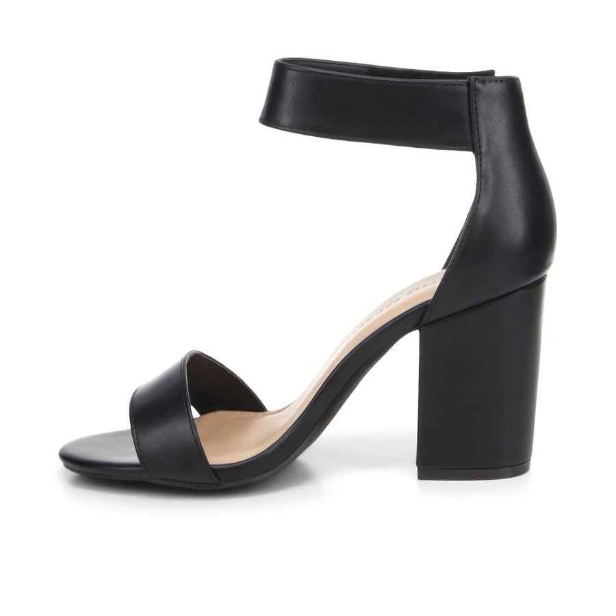 Saffy Block Heels - Wide Fit