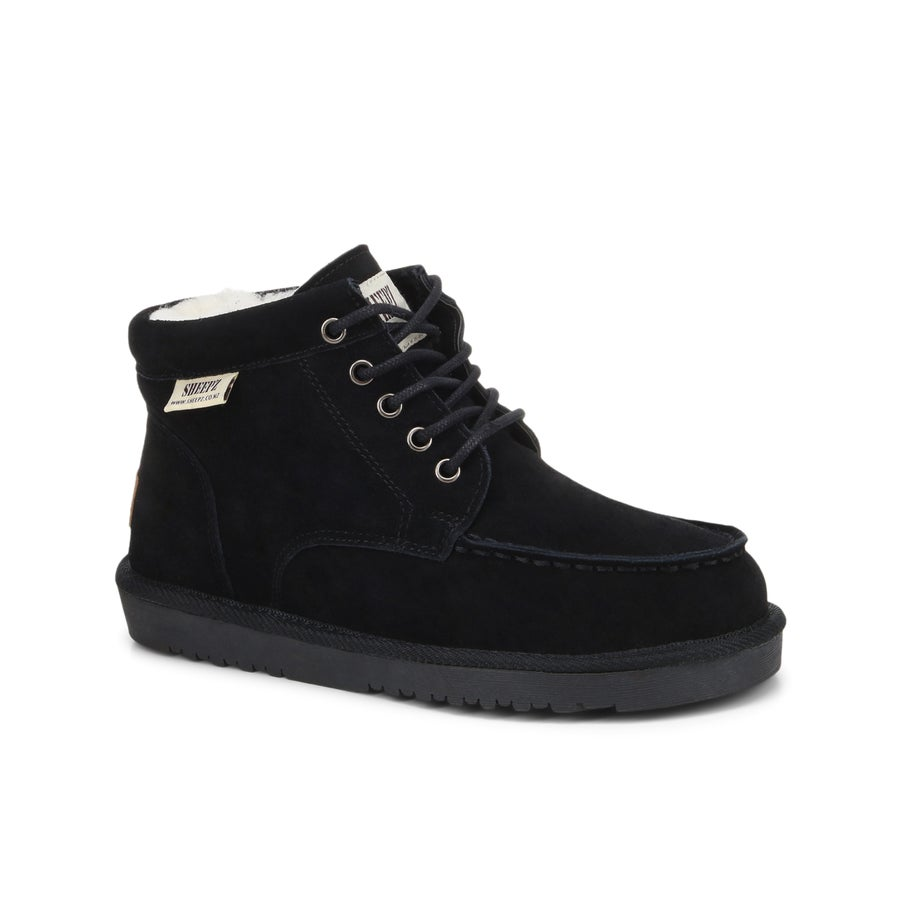 Sheepz Kingsbury Leather Slipper Boots