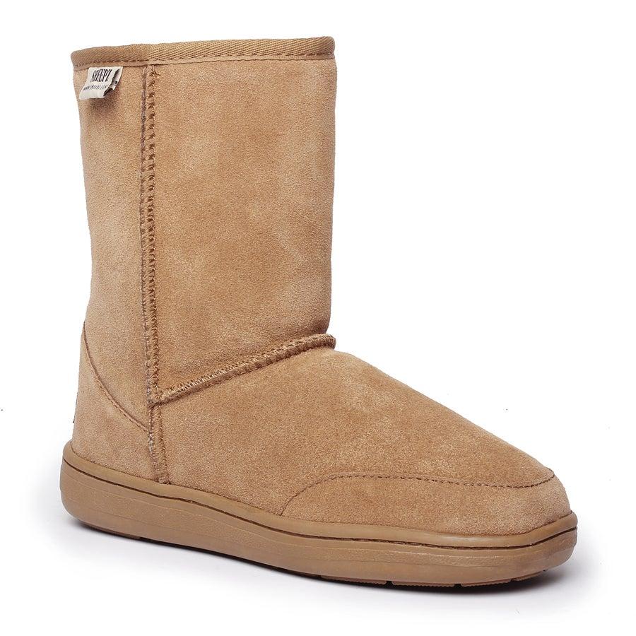 Sheepz Wainui Leather Slippers