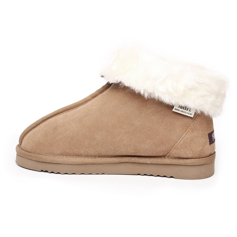 Sheepz Waitohi Leather Slippers