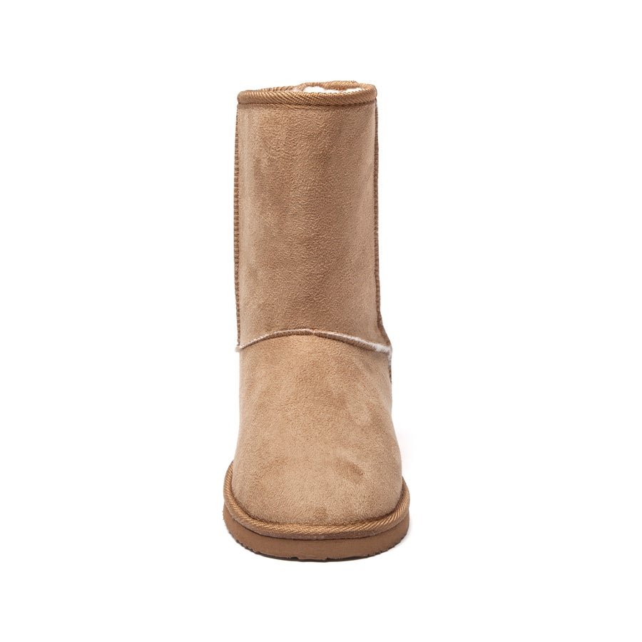 Short Slipper Boots