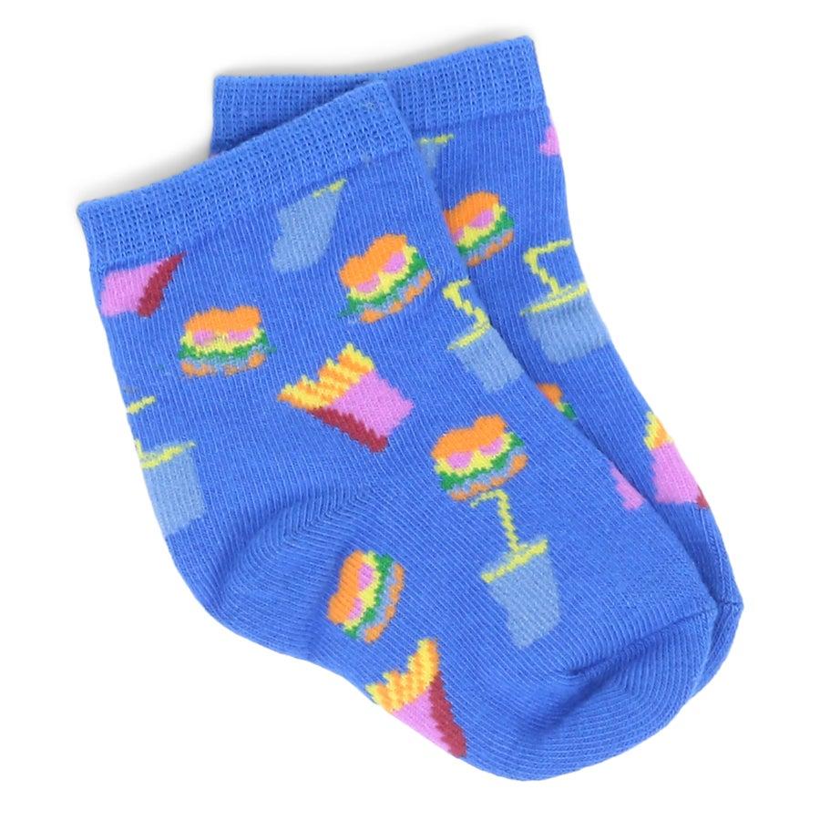 Sox Brook Burger Toddlers' Socks