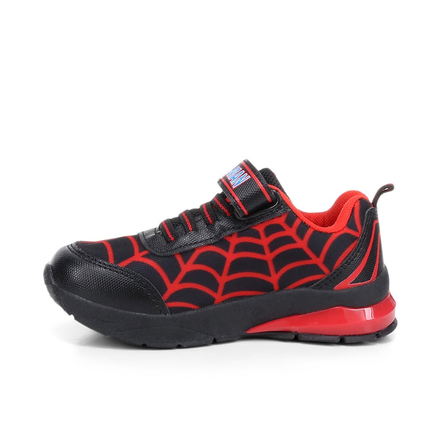 Spiderman Web Toddler Light Up Sneakers