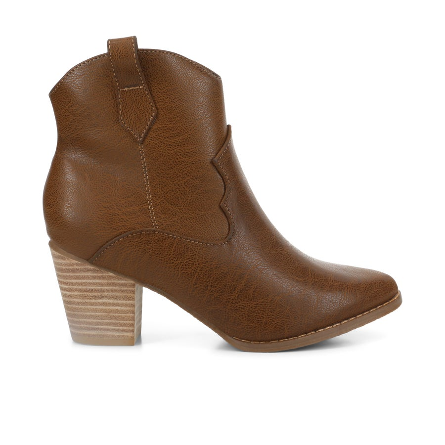 Step On Air Thalia Ankle Boots - Wide Fit