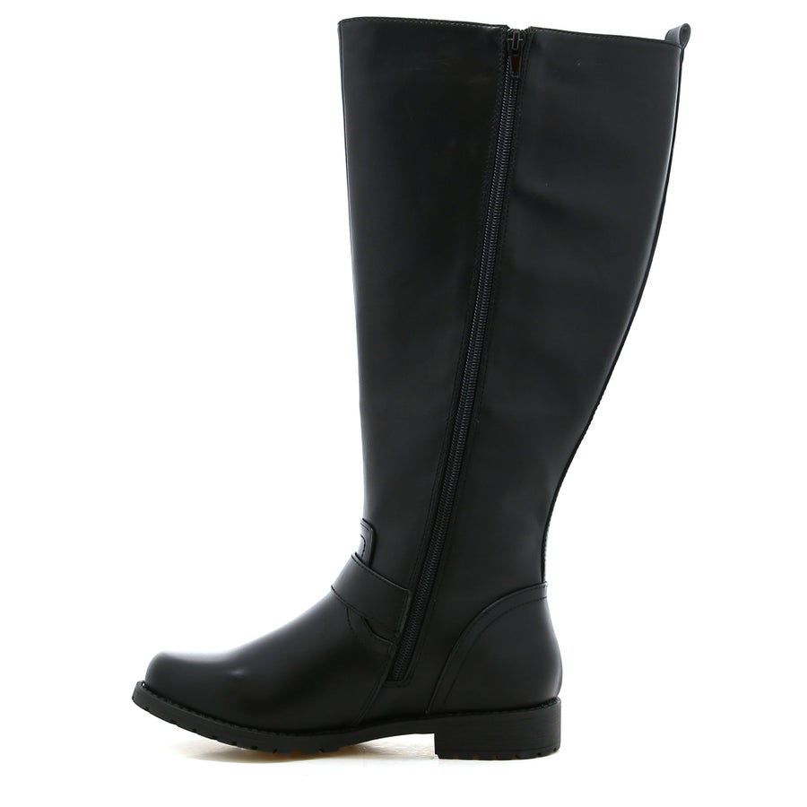 Willow Knee High Boots- Wide Fit