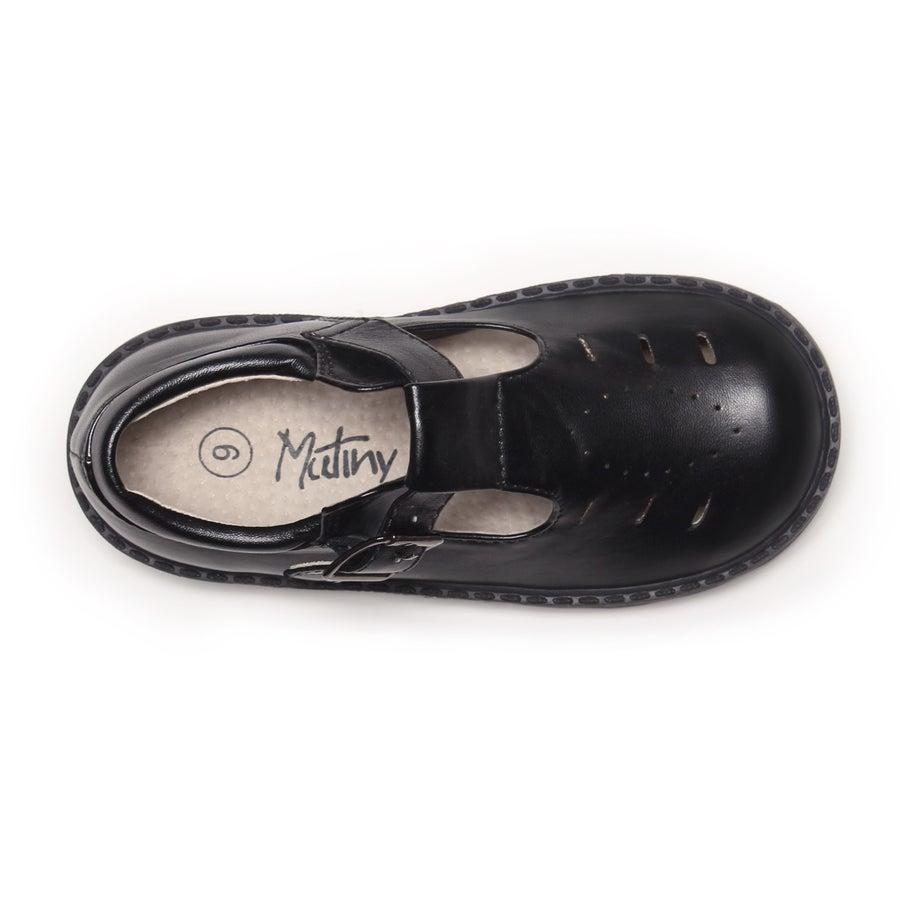 Zipper Toddler School Shoes